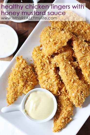Asas de frango saudáveis com molho de mostarda e mel