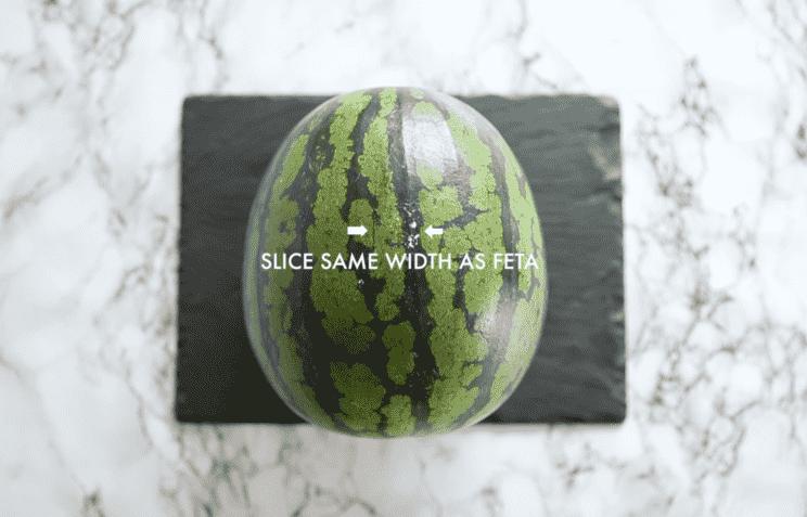 Como cortar uma melancia