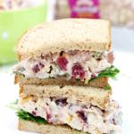 Sandwiches de ensalada de pollo más ligeros