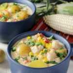 Sopa Mexicana de Pollo y Maíz