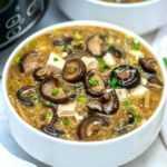 Sopa caliente y agria de cocción lenta