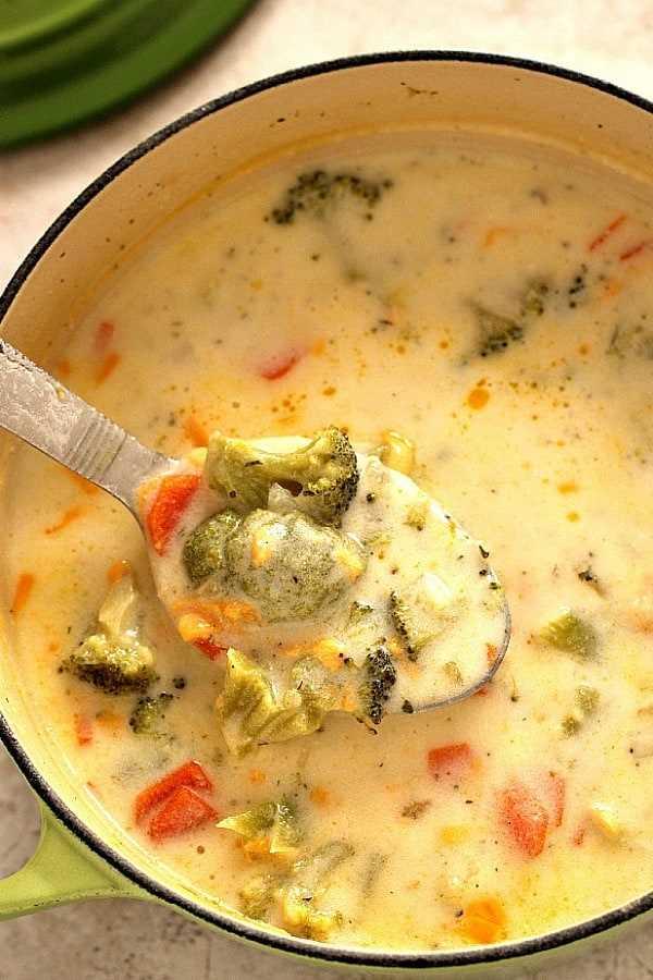 sopa de queso y brócoli panera una sopa de queso con brócoli (Panera Copycat)
