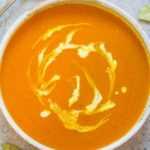 Sopa de calabaza fácil de 30 minutos