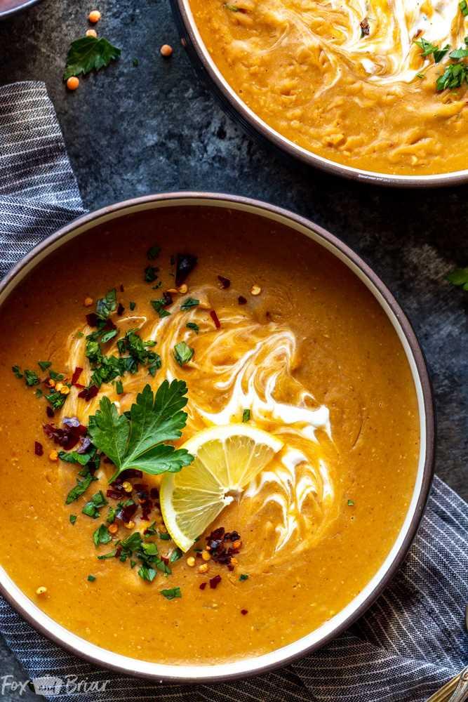 Sopa de lentilha vermelha vegana instantânea | Receitas vegetarianas instantâneas Pot | receita instantânea de sopa de maconha | Receita fácil para sopa de lentilha vermelha | Sopa de lentilha saudável | Sopa de lentilha vermelha da Turquia