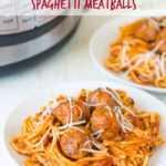 Spaghetti instantáneo y albóndigas