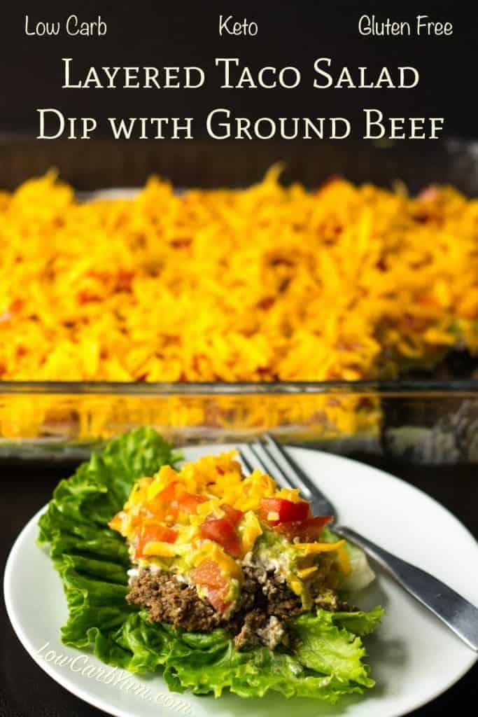 Receta de taco bajo en carbohidratos con carne