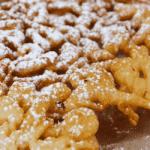Tortas tipo embudo sin gluten estilo carnaval