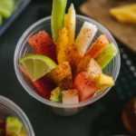 Tazas de frutas mexicanas