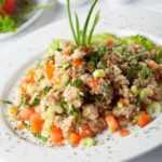 Receta Upma Harina de Avena y Verduras