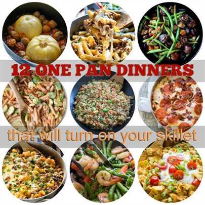 ¡One Pan Dinners que encenderá tu sartén!