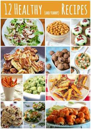 12 recetas saludables