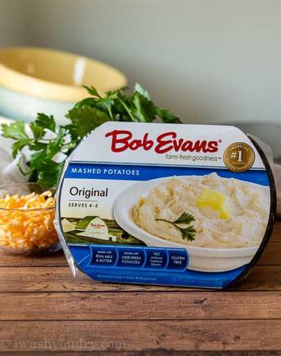 ¡A mi familia le ENCANTA el sabor, la textura y el sabor del puré de papas Bob Evans!