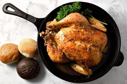 """Pollo asado jugoso fácil cocinado en una sartén de hierro fundido """"srcset ="""" https://juegoscocinarpasteleria.org/wp-content/uploads/2020/03/1583058844_255_Receta-facil-de-pollo-asado-jugoso.jpg 900w, https : //cdn1.zonacooks.com/wp-content/uploads/2018/11/Easy-Juicy-Roast-Chicken-Recipe-6-500x333.jpg 500w, https://cdn1.zonacooks.com/wp-content/ uploads / 2018/11 / Easy-Juicy-Roast-Chicken-Recipe-6-735x490.jpg 735w """"tamaños ="""" (ancho máximo: 900px) 100vw, 900px"""