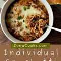 Cazuelas de espagueti individuales