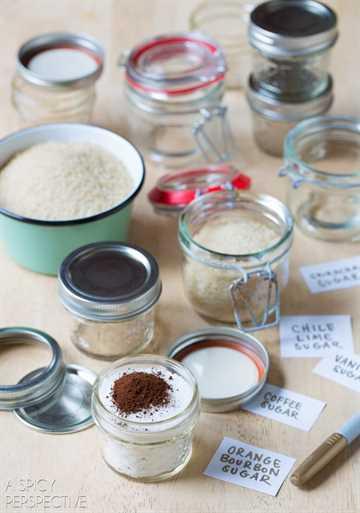 Cómo hacer azúcares con sabor fácil - Recetas de azúcar con sabor #ediblegifts #homemadegifts
