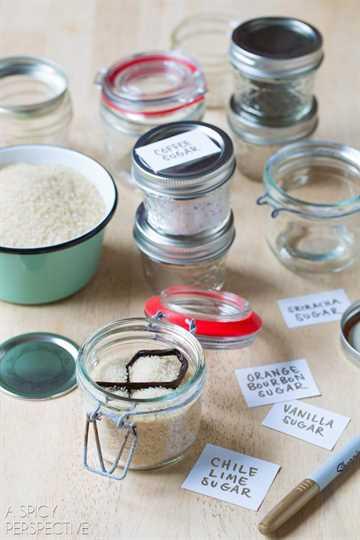 Recetas de azúcar con sabor #ediblegifts #homemadegifts
