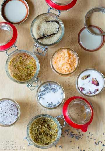 Cómo hacer azúcares con sabor - Las mejores recetas de azúcar con sabor #ediblegifts #homemadegifts