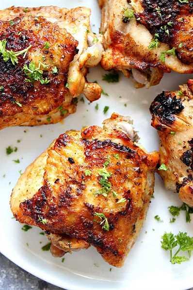 muslos instantáneos de pollo 4 Recetas saludables instantáneas para todos