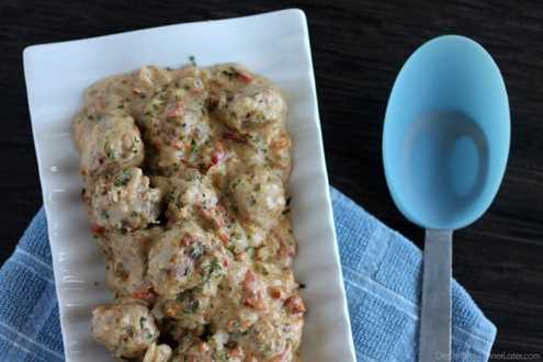 Albóndigas de Pavo con Salsa de Tomate Secado