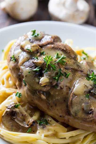 Crock Pot Chicken Marsala es muy fácil!