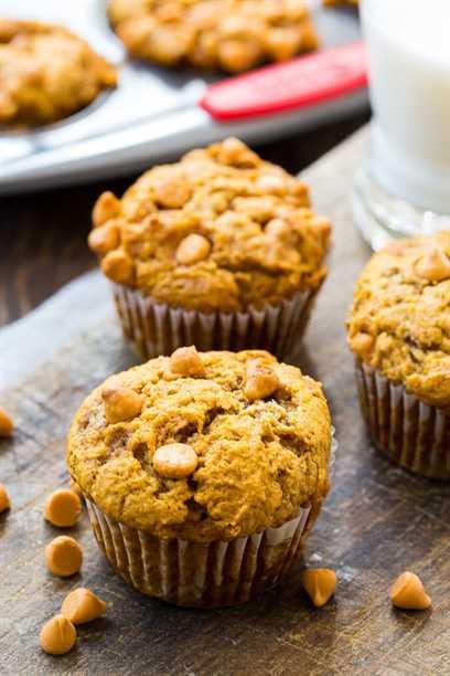 Receta de muffins de caramelo de calabaza