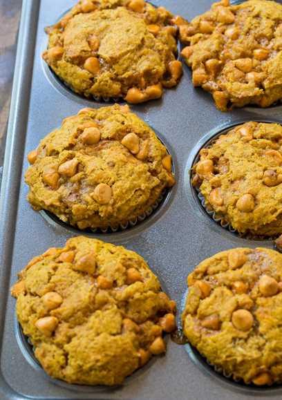Desde cero Muffins de caramelo de calabaza