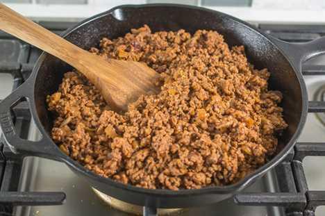 Sube de nivel tu juego de tacos de carne molida con esta receta fácil desde cero.