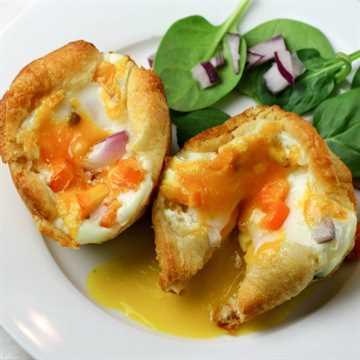 Recette Facile De Muffins Aux œufs Recette Facile Et Saine