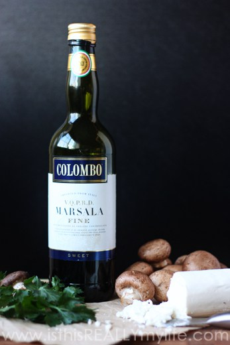 Vino de Marsala dulce de Colombo