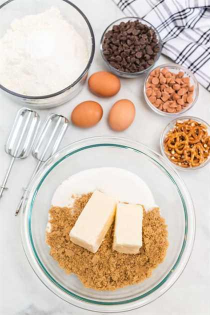 Galletas de chispas de chocolate caseras dulces y saladas 2 - Galletas de chispas de chocolate caseras dulces y saladas