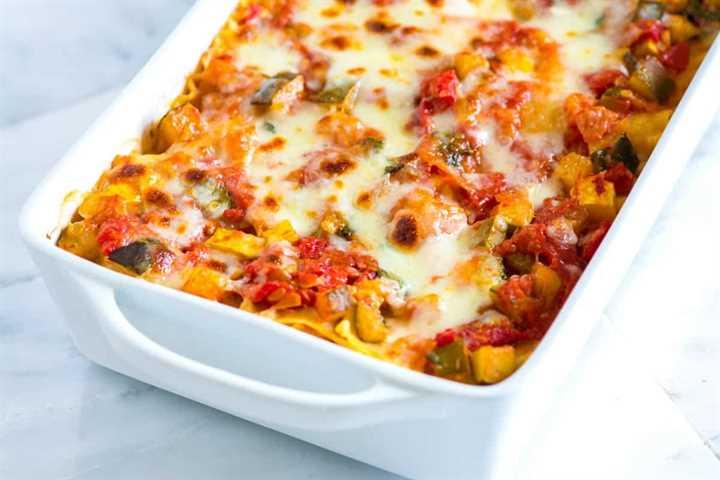 Vegetable Lasagna Easy Recipe