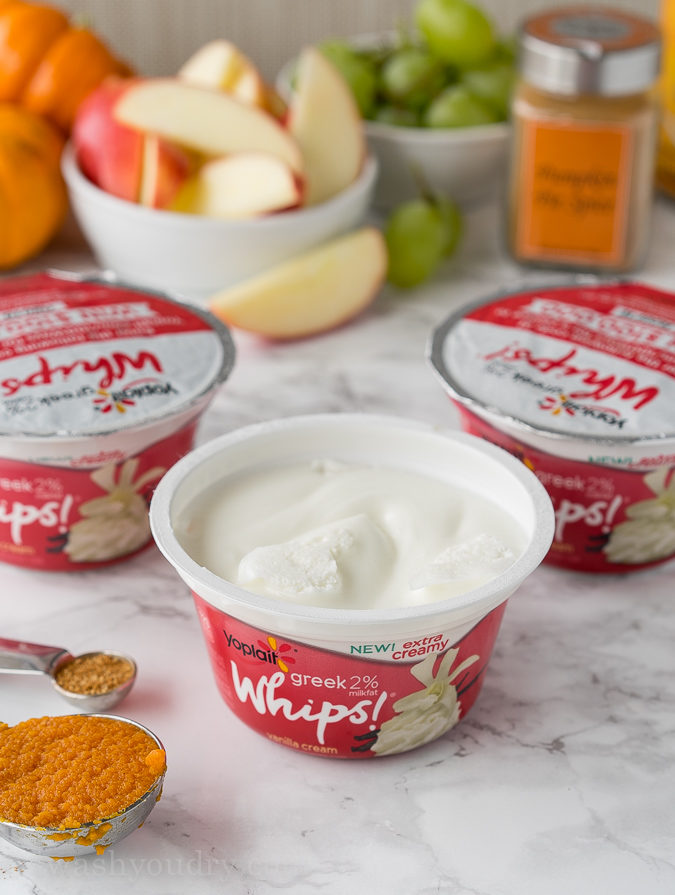 "This pumpkin pie yogurt sauce is just 3 simple ingredients and tastes great with pie crust chips or crisp apples! ""width ="" 675 ""height ="" 895 ""srcset ="" https://iwashyoudry.com/wp-content/uploads/2016/09/Pumpkin-Pie-Yogurt-Dip.jpg 675w, https://iwashyoudry.com /wp-content/uploads/2016/09/Pumpkin-Pie-Yogurt-Dip-600x796.jpg 600w ""sizes ="" (maximum width: 675px) 100vw, 675px"
