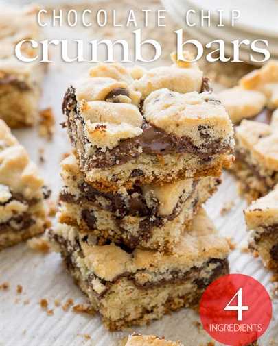 """Estas barras de migas de chispas de chocolate tienen un centro viscoso de chocolate y avellanas y están hechas con solo 4 ingredientes simples, ¡incluida la mezcla de muffins! ¡Tan fácil! """"Width ="""" 675 """"height ="""" 842 """"srcset ="""" https://iwashyoudry.com/wp-content/uploads/2016/10/Chocolate-Chip-Crumb-Bars-6-copy.jpg 675w, https://iwashyoudry.com/wp-content/uploads/2016/10/Chocolate-Chip-Crumb-Bars-6-copy-600x748.jpg 600w """"tamaños ="""" (ancho máximo: 675px) 100vw, 675px"""