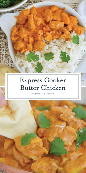 Pollo a la mantequilla indio fácil y rápido