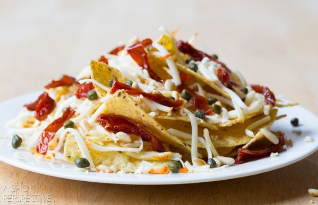 Los mejores 5 minutos de nachos: ¡una excelente manera de usar las sobras! #nachos # lujo