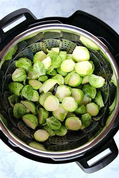Recetas instantáneas de tocino y coles de Bruselas 3 Recetas instantáneas de tocino y coles de Bruselas Receta