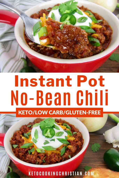 PIN Instant Pot Chili