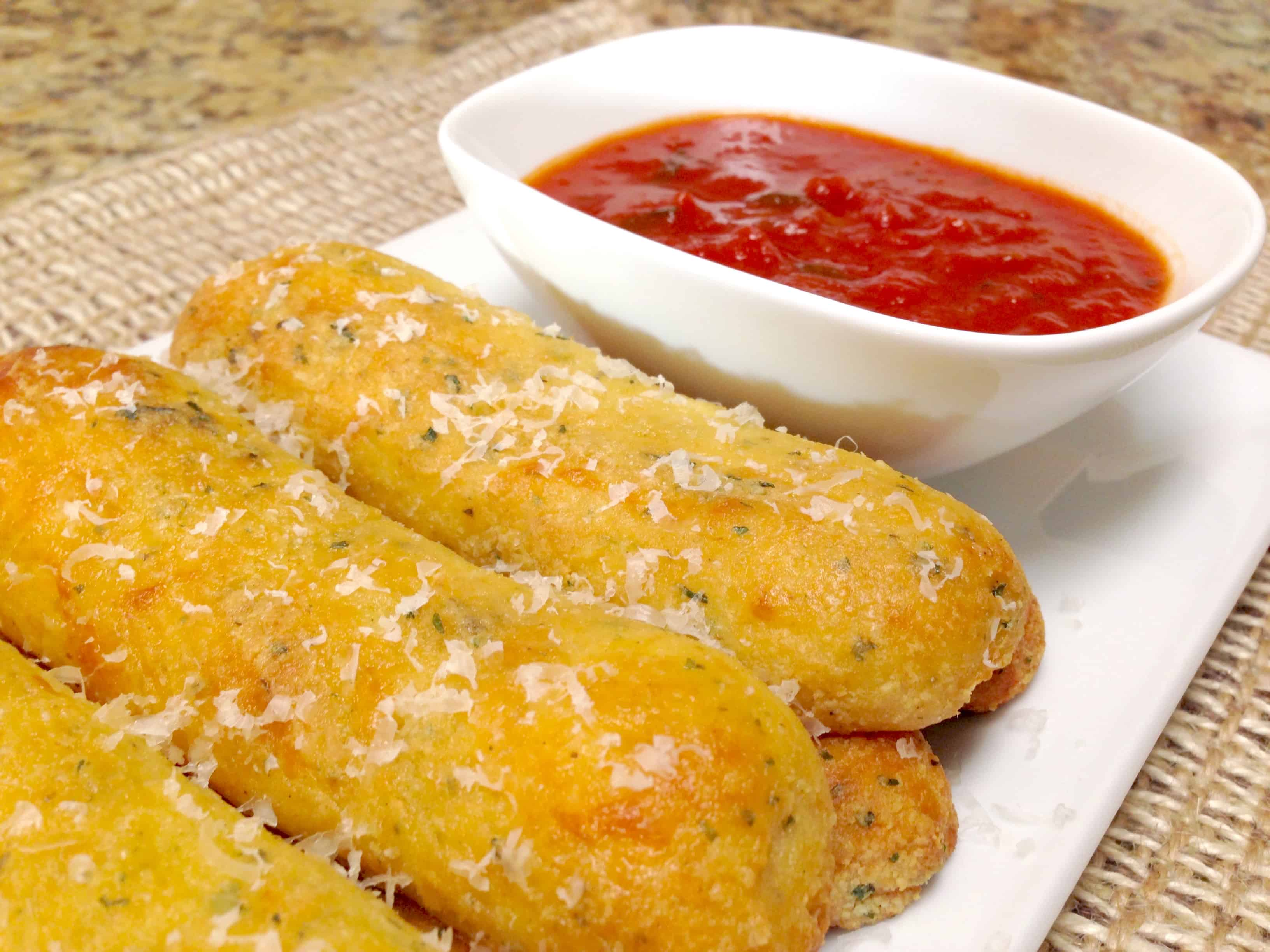 Italian breadsticks - Keto, low carb and gluten free