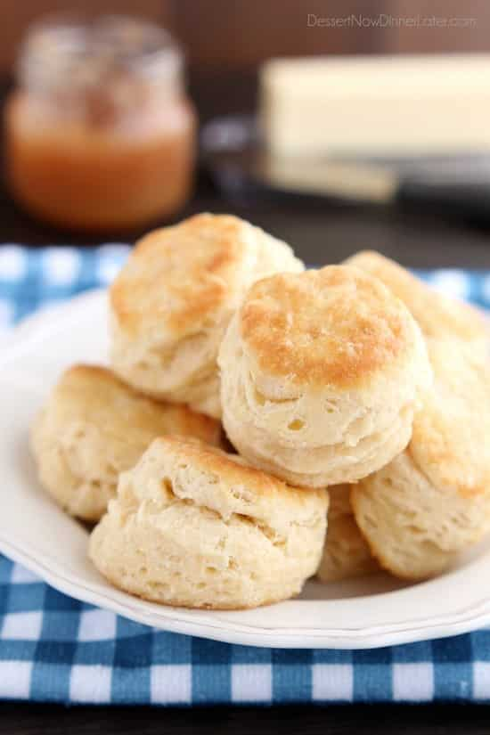 The secret of Foolproof Flaky Biscuits is revealed! Find out how to get flaky, buttery, and tender cookies that will pass out! (Tips, tricks and photo tutorial included!)
