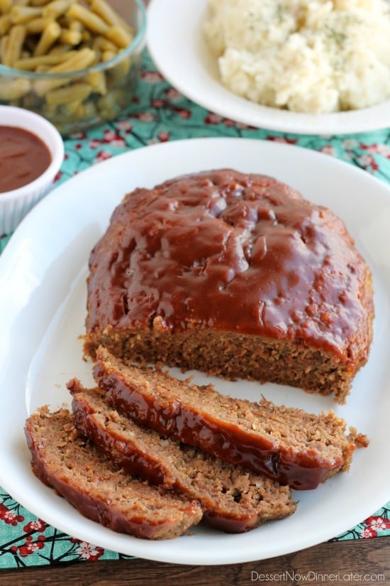 This slow cooker meatloaf has delicious salty sweet brown sugar and balsamic frosting on top, and cooks on a sheet of parchment paper that easily lifts the meatloaf out of the slow cooker when you finish cooking .