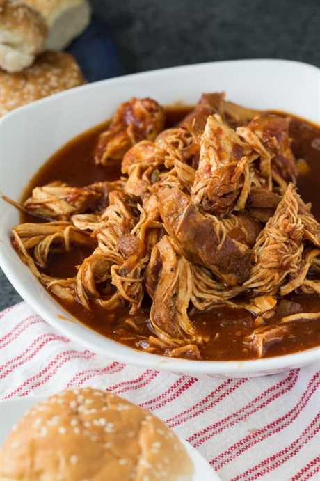 Receta de pollo a la cazuela con chipotle