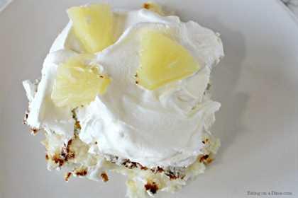 ¡Haga esta receta fácil de pastel de ángel de piña hoy! Con solo 2 ingredientes te encantará este pastel de ángel con piña. Tan rápido y fácil.