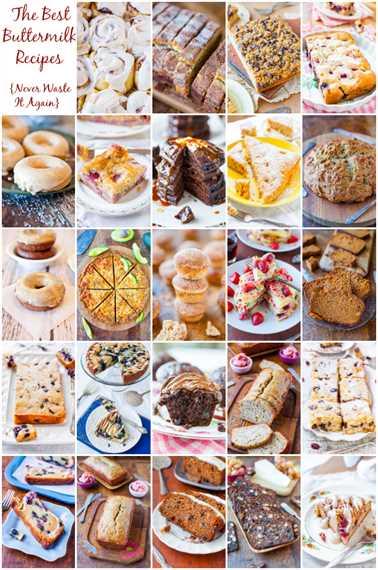 Las mejores recetas de suero de leche: ¡ahora sabes qué hacer con él para que nunca más lo desperdicies! Más de 25 recetas fáciles para pasteles, pasteles, magdalenas, rosquillas y más en averiecooks.com