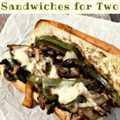 Ribeye Philly Cheesesteak Sandwiches Receta para dos
