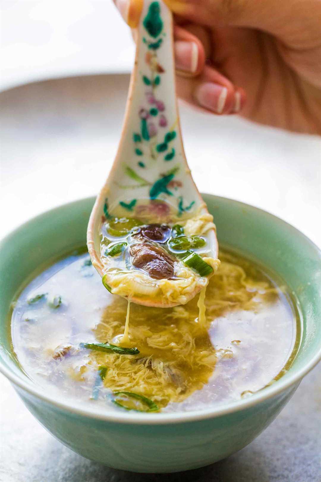 easy egg soup