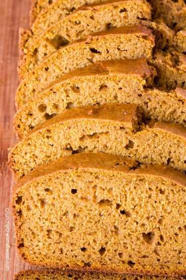 Muffins de calabaza con pan rápido y chispas de chocolate