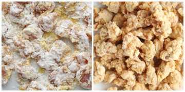 pollo asiático frito General Tsos pollo