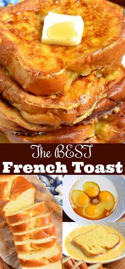 La mejor tostada francesa. Esta es la mejor receta de tostadas francesas que ofrece pan Brioche suave y mantecoso empapado en una mezcla de huevo endulzado. Combinación perfecta de felpa y textura suave por dentro y crujiente por fuera. # desayuno # pan # tostada francesa # brioche