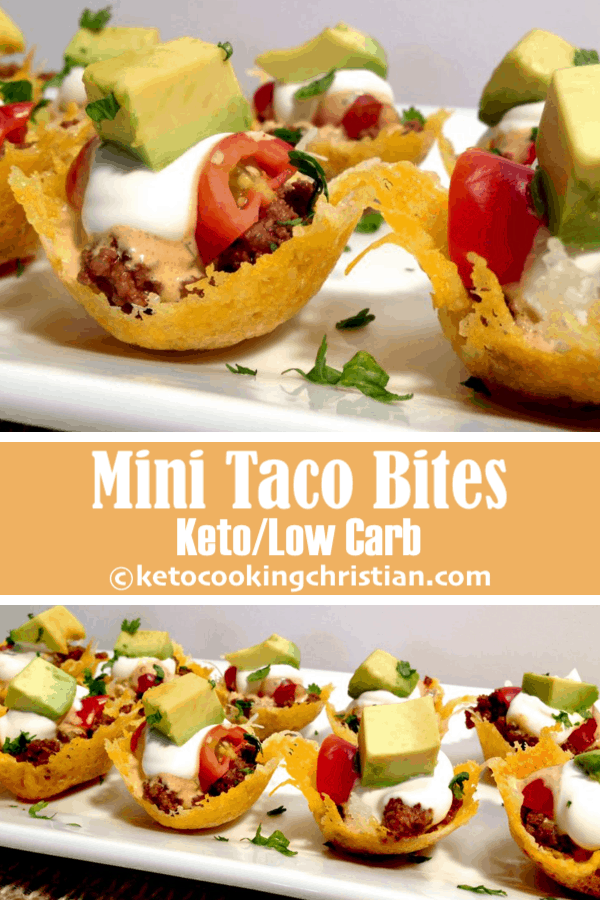 Mini Taco Bites - Keto y Low Carb
