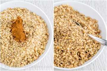 Cómo hacer relleno de nueces para la receta de Baklava